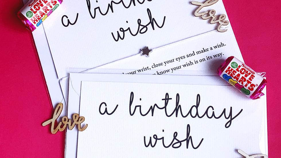 Wish Bracelet - Birthday wish
