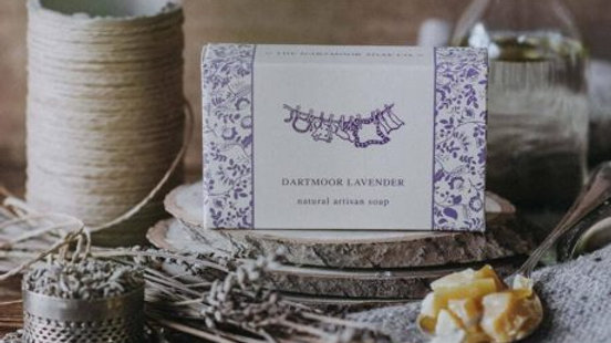 The Dartmoor Artisan Soap -Lavender