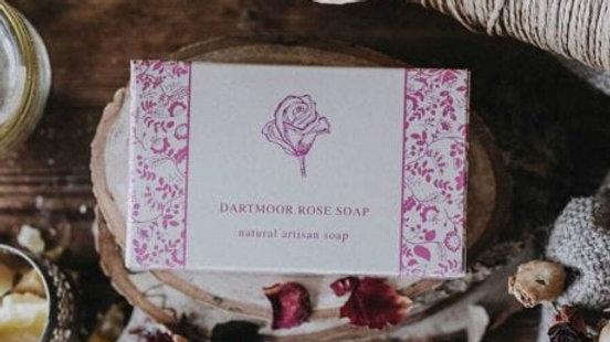 The Dartmoor Artisan Soap - Rose