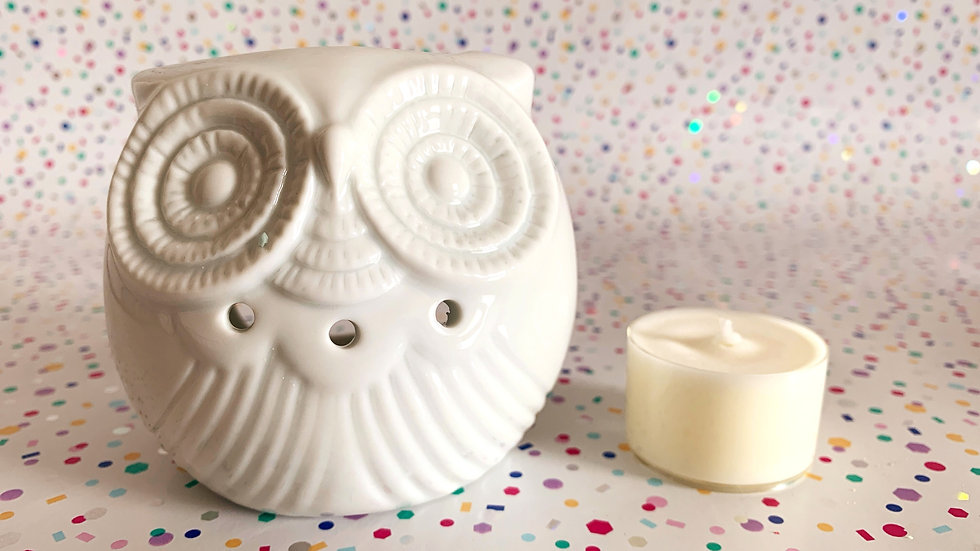 Small Candle Oil Burner