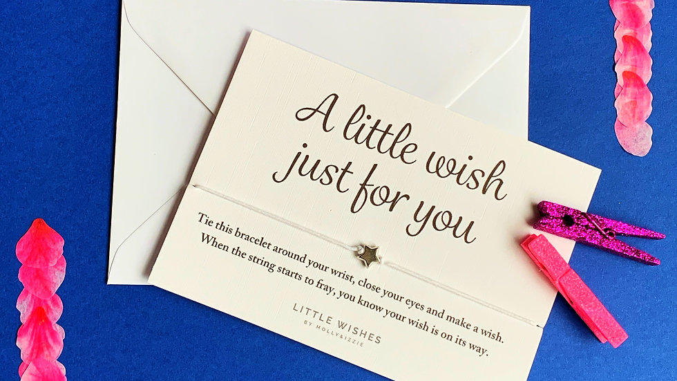 Wish Bracelet - Just for you wish