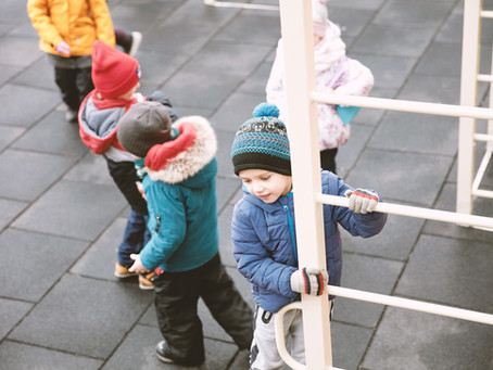 Cold Weather Outdoor Play Boosts Immune System!