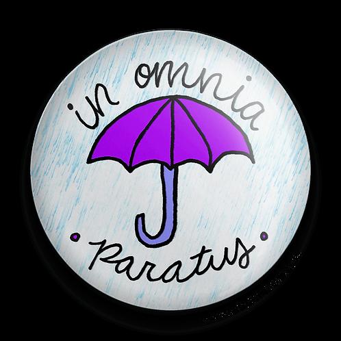 Gilmore Girls In Omnia Paratus purple umbrella with rain
