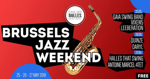 brussels jazz marathon 2018