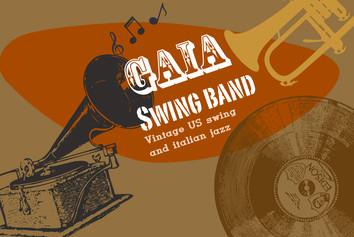 Gaia Swing Band Logo