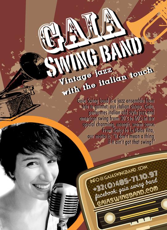 Swing jazz musique gaia swing band presentation