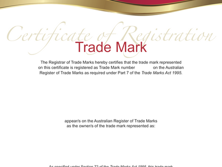 Does registering my trade mark give me the right to use it?