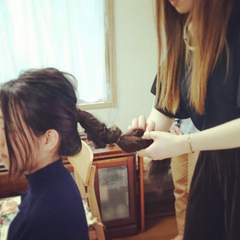 自分でできるヘアアレンジ〜初級編