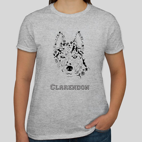 Adult Husky Logo T-Shirt (Mens and Women's Available)