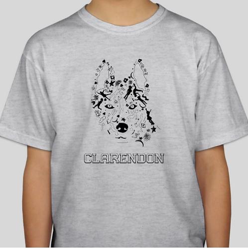 Youth Unisex T-Shirt - Husky Logo