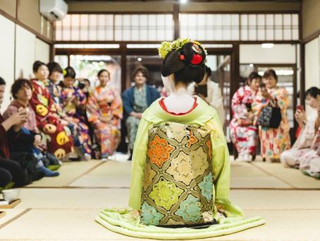 """本物の舞妓さんに会える""""MAIKO SHOW""""今月も開催決定!!"""