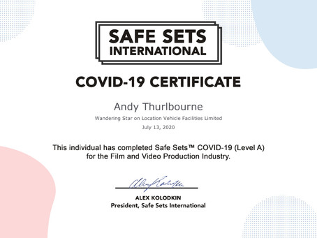 Covid-19 Awareness Certificate Completed