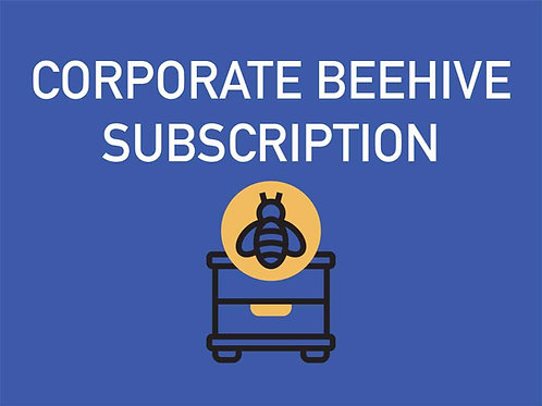 Monthly Beehive Subscription- Corporate