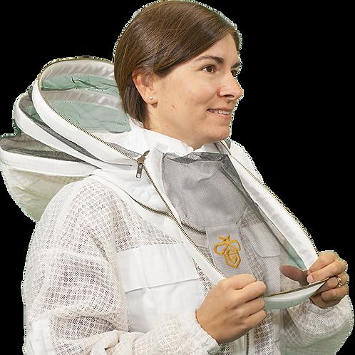Vented Beekeeping Jacket with Access Hood