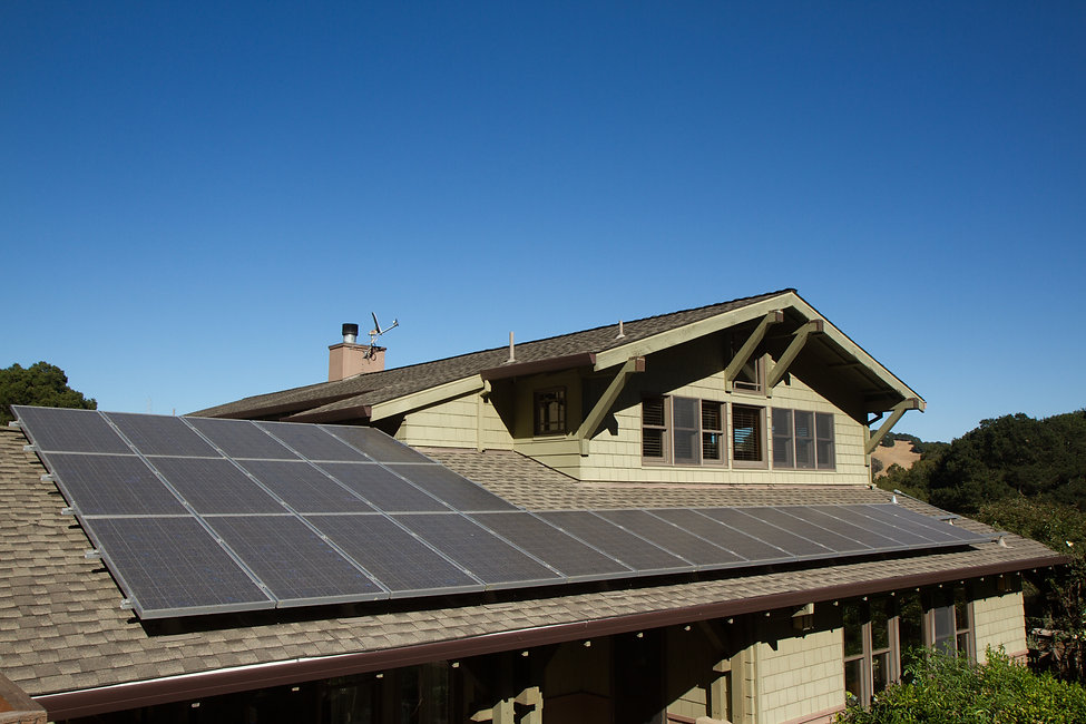 Missoula Home with Solar Panels