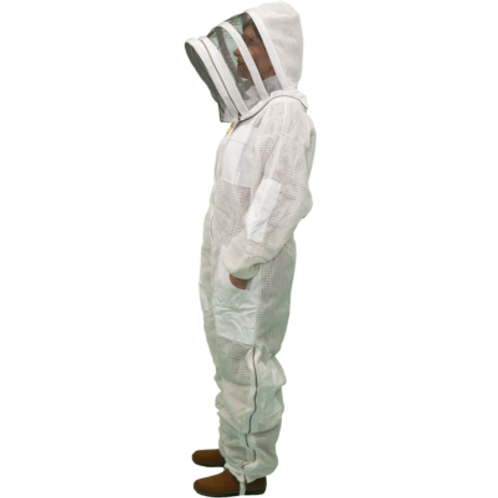 Vented Beekeeping Suit with Access Veil