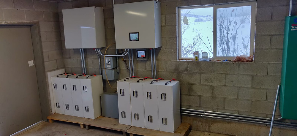Off-Grid Residential Battery System