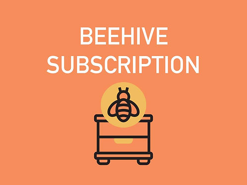 Monthly Per Beehive Subscription- Residential