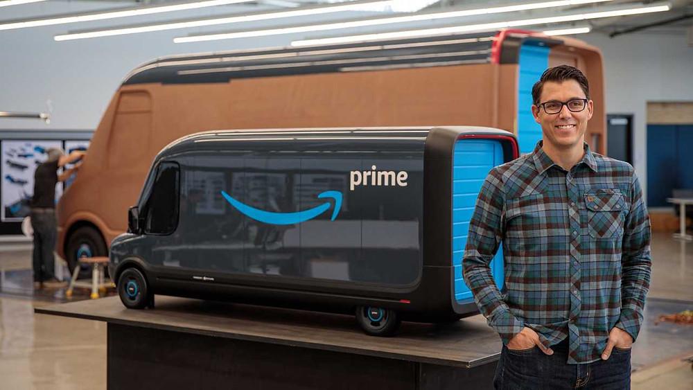 Rivans electric delivery vans Amazon