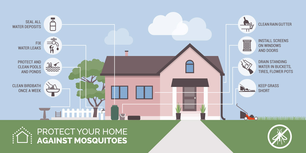 Chemical free mosquito control- Bee friendly mosquito control