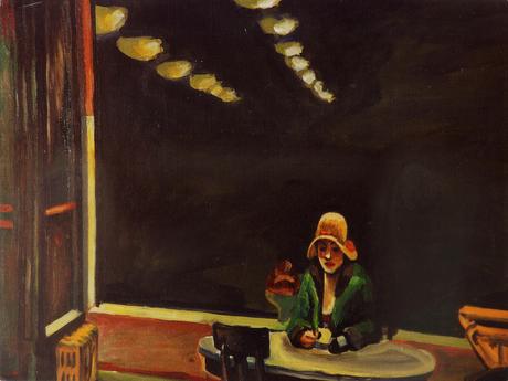 """""""John Hopper Study"""", Acrylic on Canvas"""