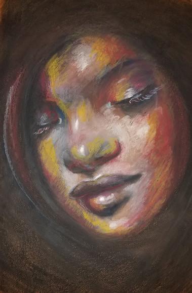Untitled, Oil Pastel