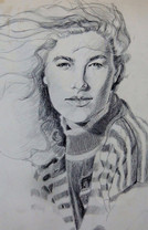 """""""In The Breeze"""", Pencil"""