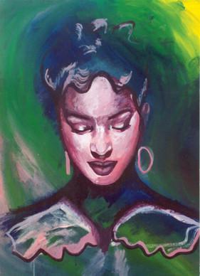"""""""Peace"""", Acrylic on Canvas"""