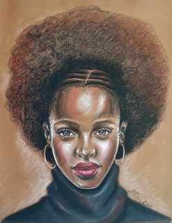 """""""My Way, My Style"""", Color Pencil and Pastel"""