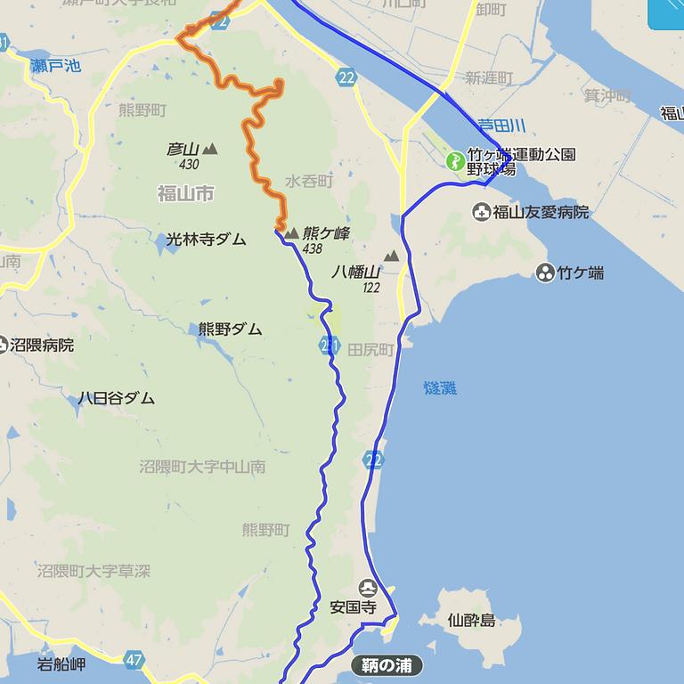 グリーンライン・コース(ヒルクライムコース) 2020