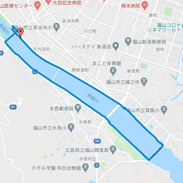 リバーサイド・コース(河川敷コース)2020