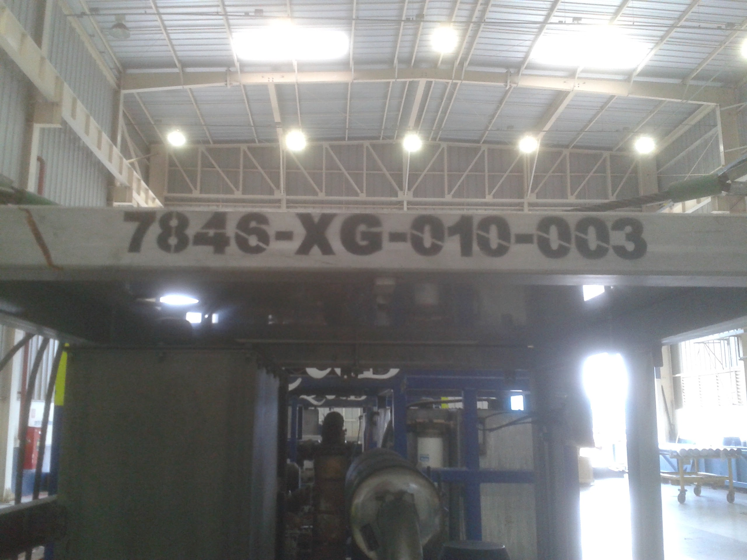 manutenção_HPU_lifting_Frame