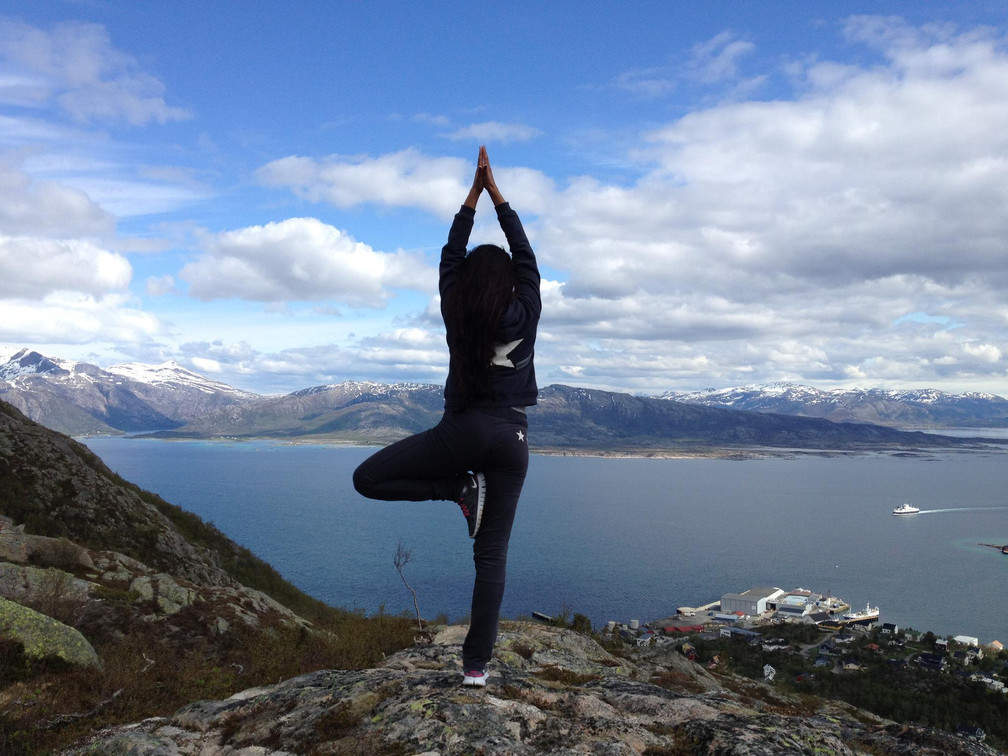 Mitt møte med Yoga