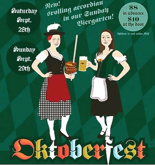 Oktoberfest Pawtucket Poster 2018