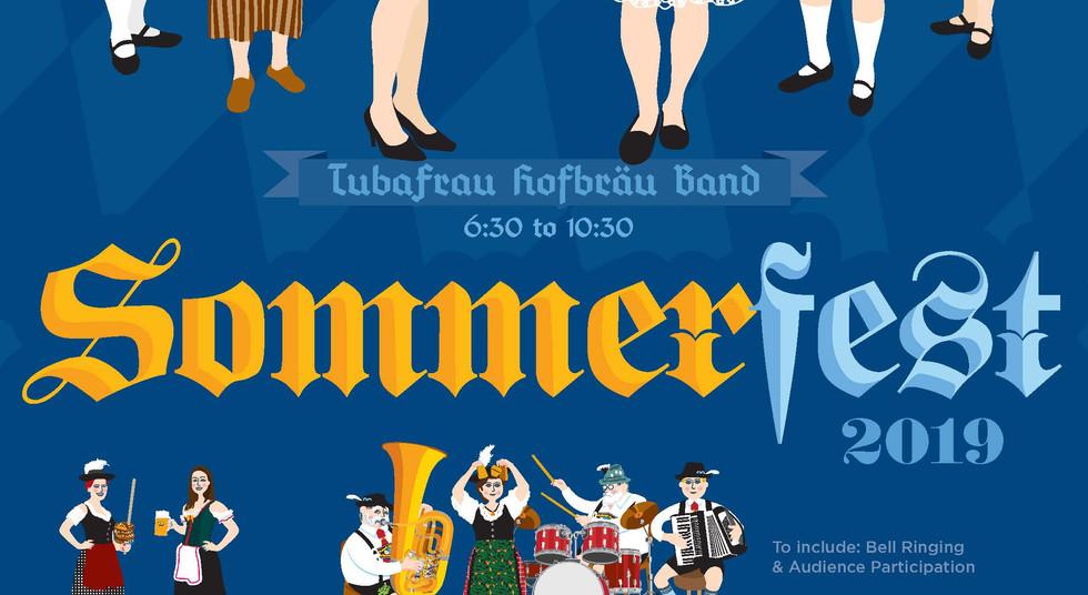 GACSRI Pawtucket Sommerfest 2019 Poster