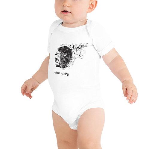Baby One Piece Lion Logo