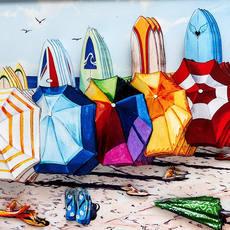 Umbrella Surf Close UP