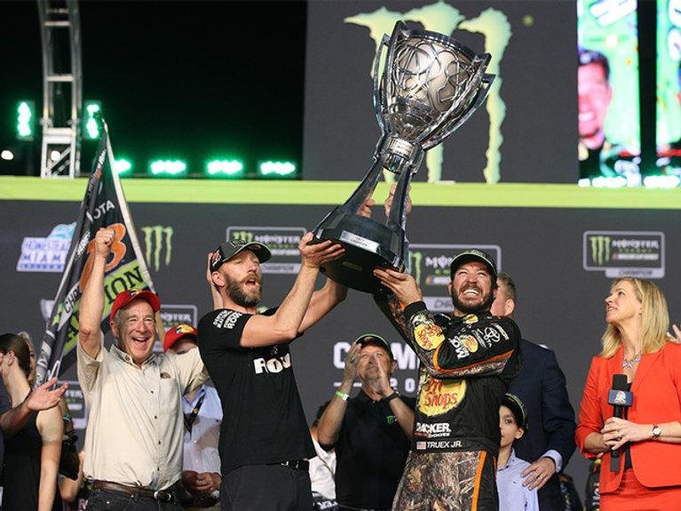 Martin Truex Jr. NASCAR Champion