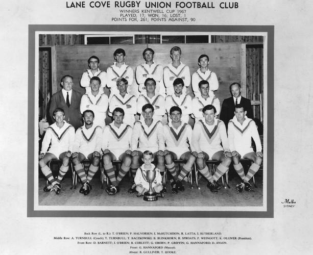 1967 Kentwell Cup Premiers
