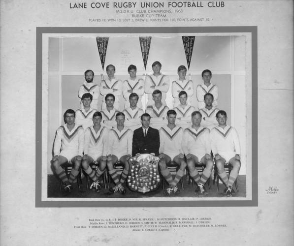 1968 Burke Cup Premiers