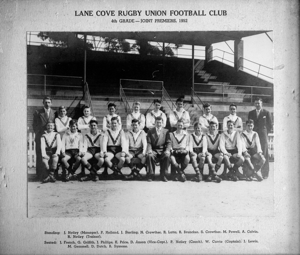 1952 4th Grade Premiers