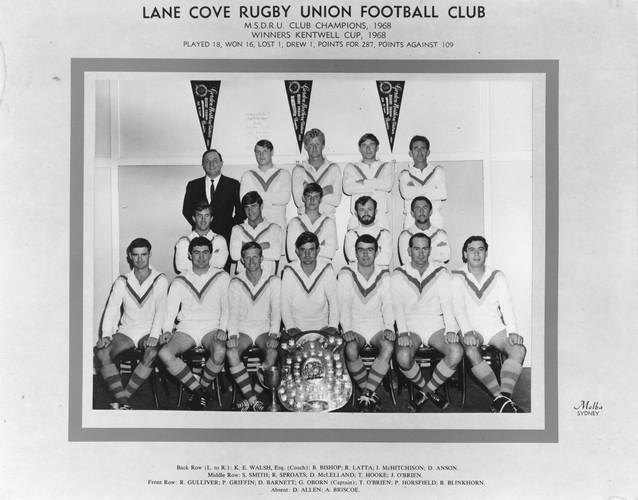 1968 Kentwell Cup Premiers