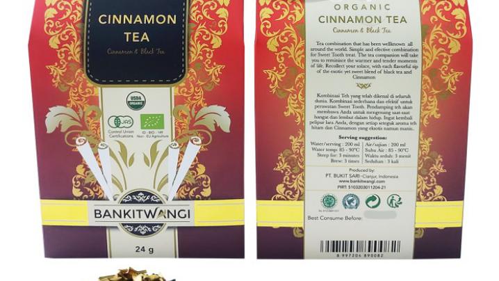 Cinnamon tea bland organik/2pack