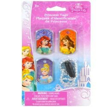 Princess 3pk Dog Tags