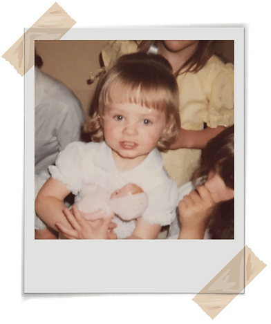 Jenny Jarvis as a young child - Specialist UK Life Change Coach