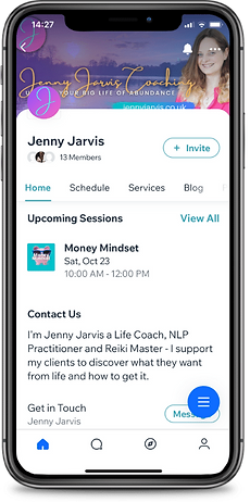 The Members App from Jenny Jarvis UK Life Change Coach