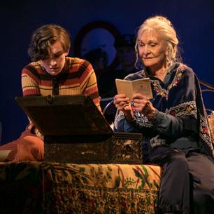 Matt Clutterham Lights Harold and Maude at Charing Cross Theatre.