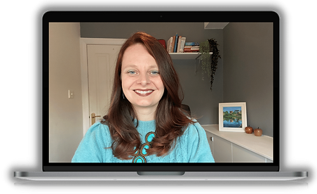 Certified UK Life and Business Coach Jenny Jarvis on Zoom