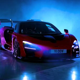 Matt Clutterham Lights British GQ's Car Awards for Storm Ltd for the 4th Year.