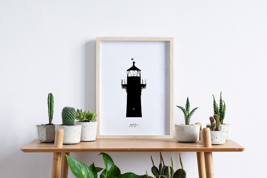 Lighthouse Siloette